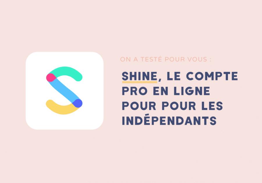 Shine banque en ligne pour les indépendants
