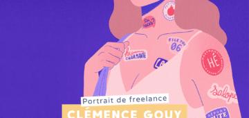Portrait de freelance - Clémence Gouy, illustratrice