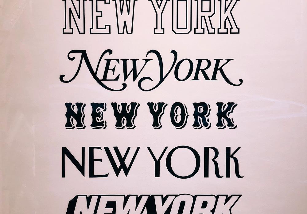 Le pouvoir de la typographie pour faire passer un message