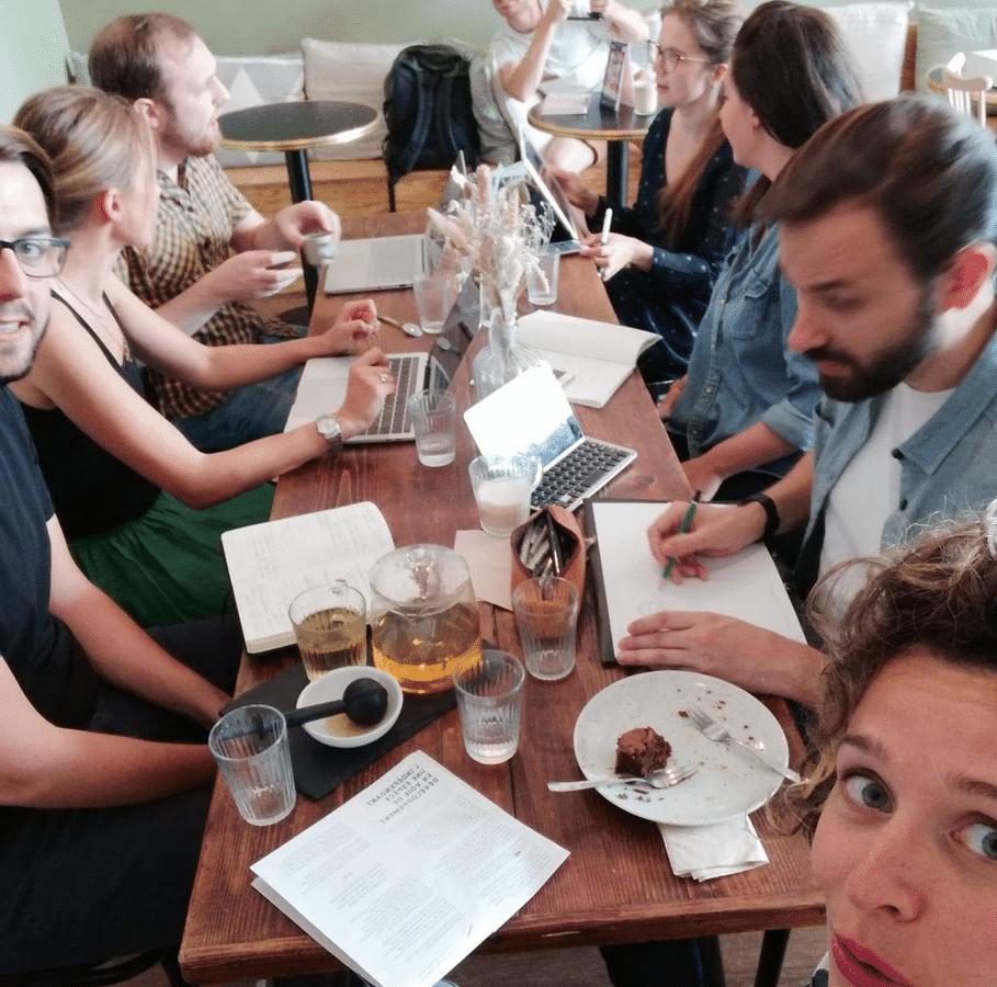 Session coworking Kinfolk - Bande à aprt