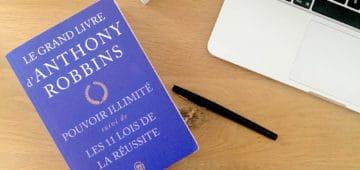 Livre freelance : Pouvoir illimité - Anthony Robbins
