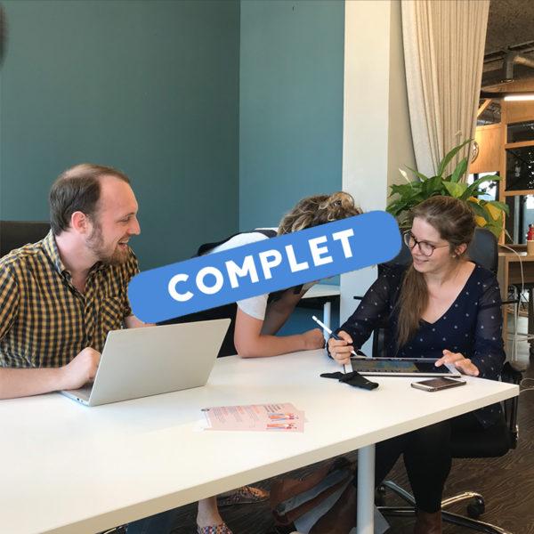 Coworking à la Cantine numérique - complet